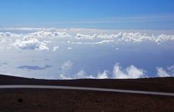 Mauna-Kea-Vulcano, Hawai, U.S.A. Fotografie Stock