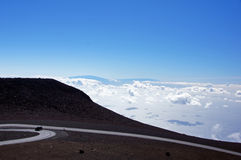 Mauna-Kea-Vulcano, Hawaii, USA Royalty Free Stock Images
