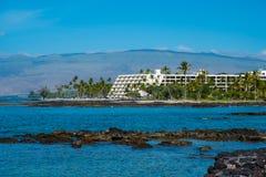Mauna Lani Bay Hotel Big Island Hawaii Stockfotos