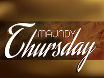 Maundy Thursday Stock Photos