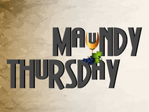 Maundy Thursday Royalty Free Stock Photography