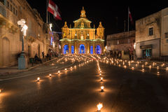 Maundy Thursday in Siggiewi royalty free stock photos