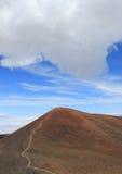 Maune kea hawaii. The top of the maune kea on hawaii Stock Images