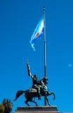 Maunel贝尔格拉诺将军的纪念碑 库存照片