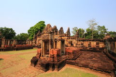 Maung Tam Castle. At Thailand royalty free stock image