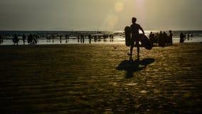 Παραλία MaungMaKan, κράτος Tanintharyi, το Μιανμάρ στοκ εικόνες