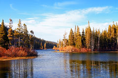 Mauntain lake Stock Image