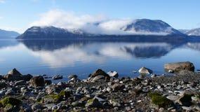 Mauntain lake Stock Photo