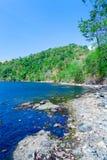 Mauntain Lake In Komodo Island Royalty Free Stock Images