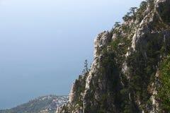 Mauntains de Crimeia Foto de Stock Royalty Free
