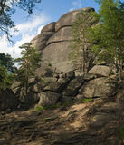 Mauntains Krasnoyarsk Stolby Stock Images