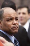 Maurício Sweeney escuta eleitores Imagem de Stock