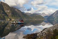 Mauranger Fjord Stock Image