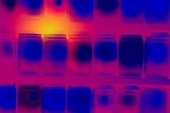 Maurer-Gläser Stockfoto
