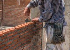 maurerarbeit Lizenzfreies Stockfoto