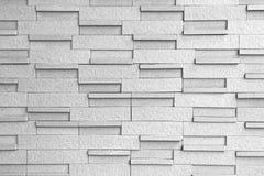 Maurerarbeit-Block-Wand-Hintergrund Schwarzweiss Stockfotos