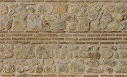 Maurerarbeit in der alten Wand Lizenzfreie Stockfotografie