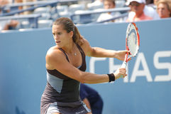 Mauresmo Amelie at US Open 2008 (09) Royalty Free Stock Image