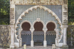 Mauretańska fontanna Sintra Obraz Royalty Free