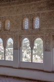Mauretański okno Obrazy Royalty Free