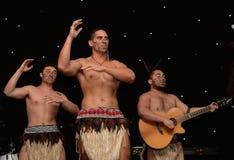 New Zealands Haka. Mauri Warriors performing the Haka Stock Image
