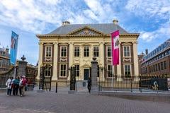 Maurice House Mauritshuis - kunstmuseum in centrum van Den Haag, Nederland stock foto