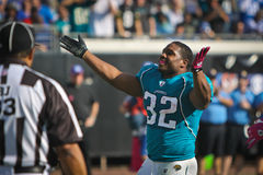 Maurice Jones-Drew Celebrates Royalty Free Stock Photos