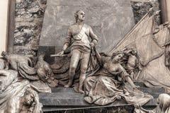 Maurice of Saxony Memorial in Strasbourg Stock Image