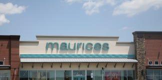 Maurices kobiet sklep odzieżowy Obraz Royalty Free
