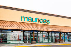 Maurices Retail Store Exterior Royalty Free Stock Photo