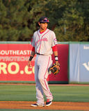 Mauricio Dubon, shortstop Greenville Drive. Greenville Drive SS Mauricio Dubon #10 Royalty Free Stock Photo