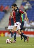 Mauricio Pinilla of Genoa CFC Royalty Free Stock Photos