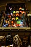 Maurische Laternen in Granada stockfotos