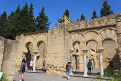 Maurische Ruinen Stockbild