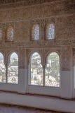 Maurisches Fenster Lizenzfreie Stockbilder
