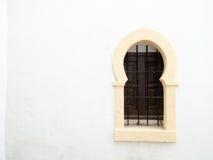 Maurisches Fenster Granada, Andalusien, Spanien stockfoto
