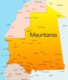 Mauritania stock de ilustración