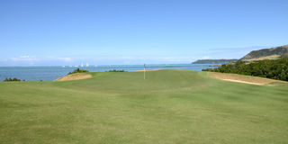 Mauritian golf on island cerf Stock Photo