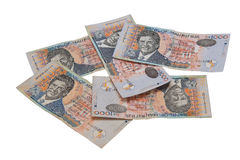 Mauritian Rs1000 notes Stock Photos