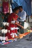 Mauritian Street Market Stock Image