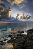 Mauritian Sunset Royalty Free Stock Images