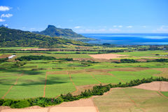 Mauritius. Beautiful landscape of eastern part of Mauritius Stock Photography
