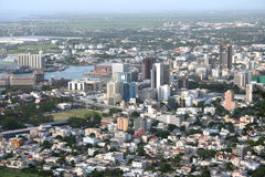 Mauritius aerial Royalty Free Stock Photos