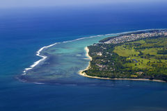 Mauritius aerial Royalty Free Stock Images
