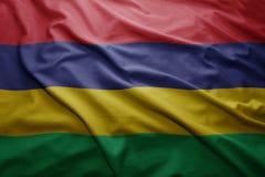 Mauritius bandery Obrazy Stock