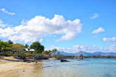 Mauritius beach landscape Stock Photography