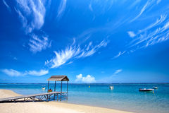 Mauritius beach Royalty Free Stock Image