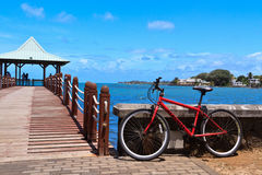 Mauritius bike Royalty Free Stock Images