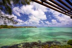 Mauritius coastline Royalty Free Stock Images