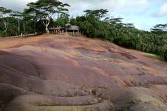 Mauritius Earth coloreado fotografía de archivo